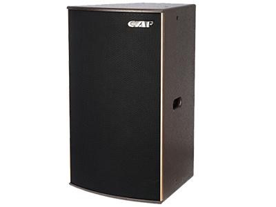 CAF HLA-001 娛樂工程專業音響 頻響范圍(±3db) LF:50HZ-3800HZ           HF:400HZ-19000HZ  最大功率(PEAK)LF: 1600W MF+HF: 600W