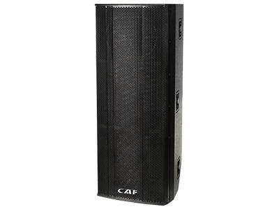 CAF DQ-215  中遠程專業音響 頻響范圍(±3db) 45HZ-18KHZ  最大功率(PEAK) 4000W
