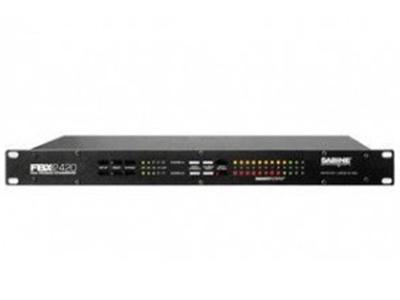 美國 賽賓 FBX 2420 反饋抑制器 頻率響應:20Hz~20kHz,±0.3dB;信/噪-動態范圍:>108dB。