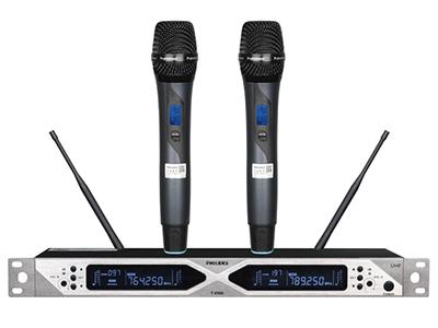 飛利克斯 T-8506 專業話筒 分集接收器實現最佳接收,有效發射距離可達150米 采用紅外對頻與手動調頻方式實現傳送器無線同步
