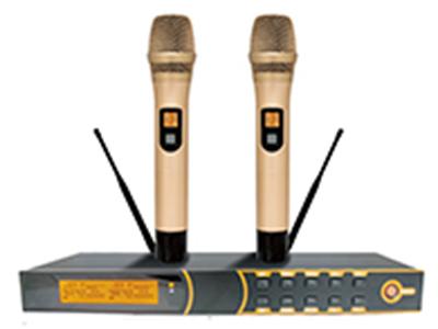 天籟 TN-610 專業話筒 導頻、雙靜音感應麥克風系統 頻率范圍:740-790MHz