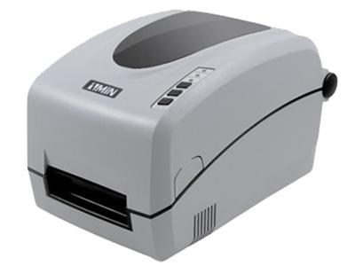 "ZMIN H系列条码打印机    ""● 90°打印机芯开启,方便安装碳带和标签:支持大小管芯碳带,支持内外碳面; ● 双纸张感应器可识别市场上所有规格型号的标签:包括最小3mm高度标签和黄底纸标签; ● 203DPI打印分辨率,高达6英寸/秒打印速度; ● 小身材大空间,可容纳300米碳带卷及5英寸纸卷"""