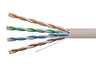 一舟 U/UTP CAT5e超五類單股非屏蔽電纜