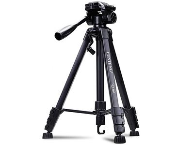 云腾 VCT668 三脚架 佳能尼康索尼单反相机支架微单摄影架手机直播便携三角架 节数:4节 产品材质:铝合金