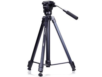 云腾 vct-860 三脚架  索尼尼康佳能单反相机专用支架 手机直播三角架