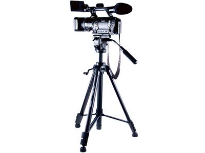 云腾 VCT880 三脚架 单反相机佳能5D3尼康D810索尼NX100摄像机便携三角架  节数:4节 产品材质:铝合金