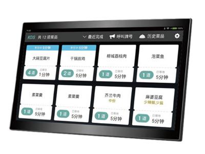 银豹 KDS厨显安卓平板一体机。