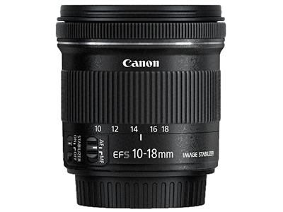 佳能  EF-S 10-18mm f/4.5-5.6 IS STM 广角变焦镜头