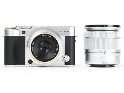 富士 X-A3  微单电数码相机  传感器尺寸:APS-C画幅 像素:2001-4000万 功能:WIFI连接,翻转自拍