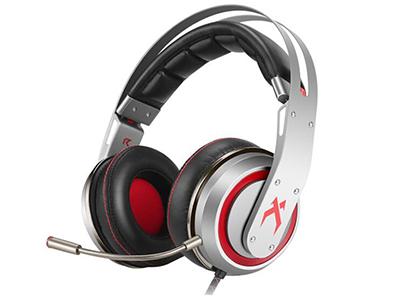 西伯利亚 T19电竞游戏7.1声道发光震动头戴式耳机