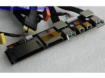 USB前置 联想锋行k410 k415 k4r1 k430 k450 前置USB3.0 读卡器