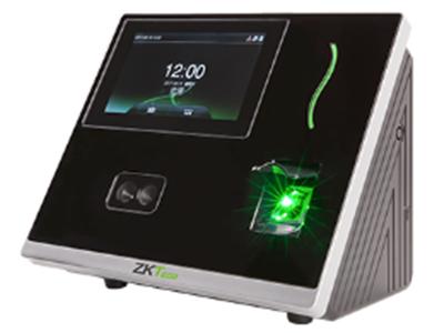 人脸识别考勤机inSun100 采用中控智慧全新自主研发的面部识别算法9.0,区别于传统面部识别算法,更快速、更准确;采用ZMM220(128M内存,256M Flash)大容量核心板,CPU主频高达1G,基于Linux系统开发,保证产品高速稳定运行;inSun100具有高分辨红外双摄像头,在红外双摄像头周围红外灯数量多达168个,更好的抵抗光线的干扰,使得在打卡签到时,更加高效便捷。inSun100期待着您的体验。