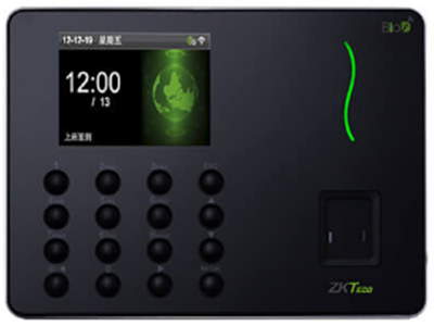 指纹考勤机W6 采用中控智慧硅谷实验室设计的BioID指纹头,具有超大采集面:指纹仪有效采集面积达0.6*0.8英寸,符合FAP20标准;先进的激光切割工艺保障指纹仪成为业界轻薄翘楚,整体模块大小仅为:35*43*16mm;待机时处于休眠状态,增加机器使用寿命,更节能;模具采用了PC材料+蚀纹工艺,超薄机身设计。