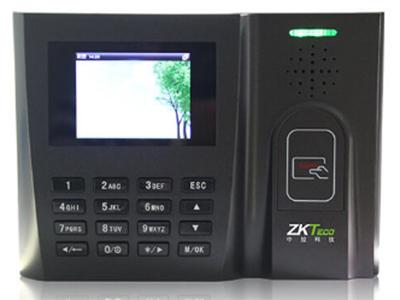 射频卡考勤机 JM300 采用人性化设计的通用界面,内嵌LINUX系统,T9输入法如编写短信般轻松录入汉字,编辑姓名,轻松易用。JM300标配TCP/IP的通讯方式,可以与您的网络环境无缝连接,其选配ADMS功能,助您实现分布式广域网人力资源管理。JM300标配ID卡、选配MF卡功能,支持U盘上传下载功能;将使您的时间管理工作畅通无阻。