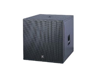 貝塔斯瑞  WS1800B 商用娛樂音箱 倒相式大功率高能量低音箱 適用于需要提供彈性較強及結實的低頻的場所