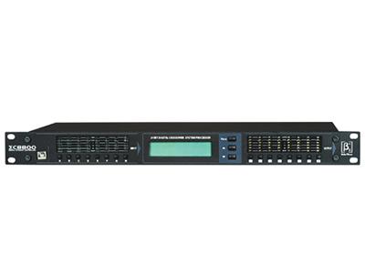 貝塔斯瑞 ΣC8800 專業數字信號處理器 采用高性能32位高采樣DSP芯片. 24位192K采樣率AD/DA芯片,為產品提供更好的動態處理及高保真還原能力參量EQ(輸入部分5段輸出部分7段)
