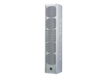 貝塔斯瑞  SAK4.4 內置3分頻4英寸全頻揚聲器  采用4英寸全頻單元和1.75英寸高音壓縮驅動器組成的中型音柱音箱 指向性150°×90°頻率響應達到90Hz-18kHz(-3dB)靈敏度88dB,最大聲壓級115dB 額定功率120W,短期最大功率480W 箱體采用進口層壓板,表面烤漆工藝制造