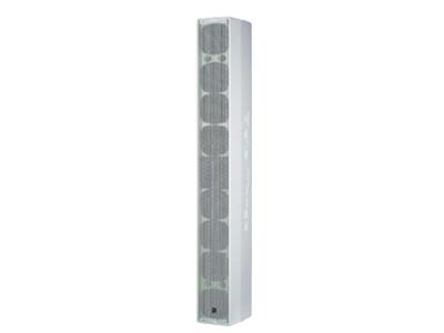 貝塔斯瑞  SAK4.8 內置3分頻4英寸全頻揚聲器 采用4寸全頻單元和1.75寸高音壓縮驅動器組成的中型音柱音箱 指向性150°×30°頻率響應達到80Hz-18kHz(-3dB)靈敏度94dB,最大聲壓級124 dB 額定功率240W,短期最大功率960W 箱體采用進口層壓板,表面烤漆工藝制造