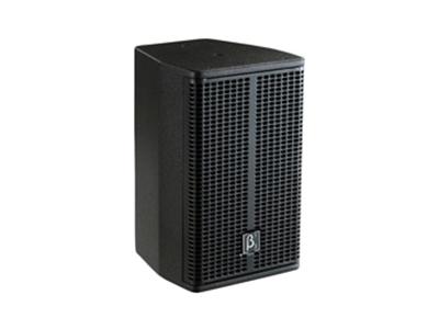 貝塔斯瑞 SAK208 內置2分頻8英寸全頻揚聲器  二單元二分頻全頻帶,高聲壓高靈敏度音箱 一只8英寸高功率低音單元 一只1英寸PEI高分子聚合物膜片高音壓縮驅動器 指向性100°×80°頻率響應達到80Hz-19kHz(-3dB)靈敏度96dB,最大聲壓級124dB 額定功率150W,短期最大功率600W 7×M8支架吊裝點