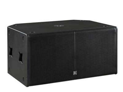 貝塔斯瑞 SAK218B 雙18英寸無源低頻揚聲器  兩單元超低頻高靈敏度音箱 兩只18英寸高效低音單元 電腦優化模擬設計以獲得良好的頻響和相位特性 頻響范圍35Hz-200Hz 額定功率1200W,短期最大功率4800W 單功放推動