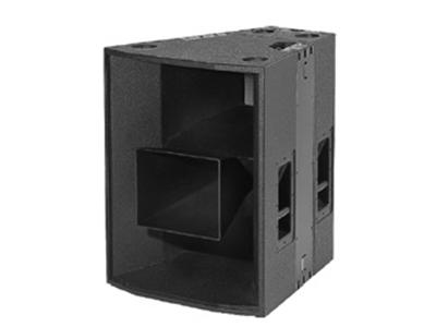 貝塔斯瑞  T12L 外置3分頻雙12英寸全頻揚聲器系統  根據設計理念,兩只12″揚聲器及號角、一只4″和1.75″同軸驅動器與一只三軸號角結合為一體,形成上述指向角。