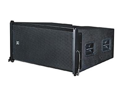 貝塔斯瑞 T-Line215B 雙15英寸防水低頻線性陣列揚聲器   雙15英寸鐵氧體 低頻驅動單元 可以與T-Line312H線陣揚聲器配套使用 專用吊架配3/4卸扣的安裝方式