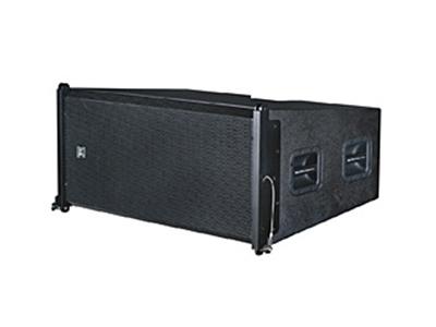 貝塔斯瑞  TLB-101F 雙12英寸防水低頻線性陣列揚聲器 其寬度與全頻箱一致,體積小巧、結構緊湊、重量輕,接插安裝十分便捷,可為系統提供更為寬廣的低頻響應。是T-Line防水型線陣列的選配音箱之一。特別適宜戶外流動演出低頻補充使用。