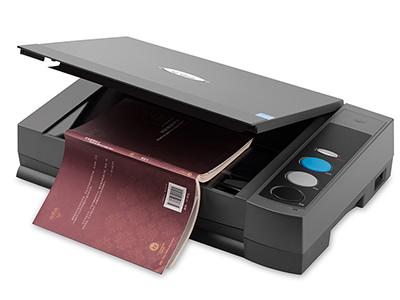汉王T80P扫描仪 A4办公抄书机文字处理专业文本王扫描仪