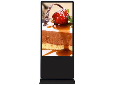 乐彩视讯 LCS-G4301-LD 43寸落地广告机 尺寸:1745X635X50