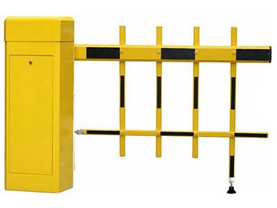 全黄色栅栏道闸MT-D201