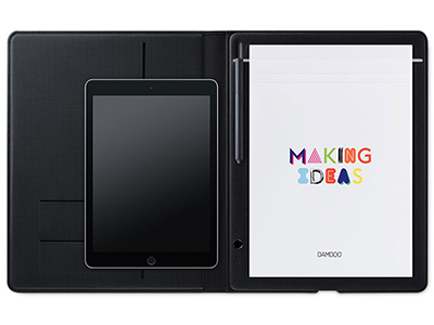 Wacom 和冠 数位板 bamboo Folio CDS610G 智能笔记本 电子绘画本