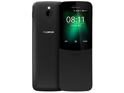 诺基亚 NOKIA 8110 移动联通4G手机 直板按键 双卡双待 经典复刻 炫酷滑盖 4G热点备用功能机 经典复刻/4G网络/滑盖设计