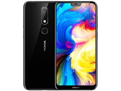 诺基亚X6 手机 4GB+32GB 4G以下网络双卡双待 后置摄像头:1600万+500万像素 前置摄像头:1600万像素