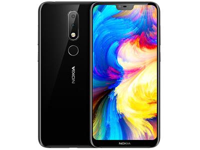 诺基亚X6 手机 6GB+64GB 分辨率:2280x1080 后置摄像头:1600万+500万像素 前置摄像头:1600万像素