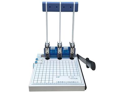 奇砚QY-15A   A4幅面,3孔打孔切纸机,孔径3mm/4mm/5mm/6mm,页边距可调0-15mm,孔距是83mm,打孔150张。