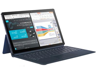 酷比魔方 KNote 5 二合一 Win10平板电脑 (低配版) 11.6英寸高清1920*1080分辨率 intel Gemini lake N4100,GPU使用Intel HD Graphics 600,IPS全视角显示屏 4GB/128GB 9.6mm超薄机身,750g轻巧设计,前200W摄像头 蓝牙4.0 WIFI 重力感 GPS  windows10/4000毫安电池  双BOX喇叭,音质出色