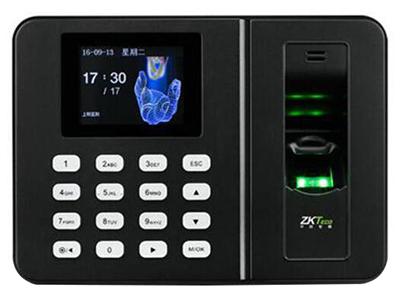 中控GK601   指纹容量:1000指纹 记录容量:50000条 通讯方式:U盘 使用温度:0℃-45℃ 使用湿度:20-80\\% 定时响铃:支持用户设置响铃 电源规格:DC5V 1A