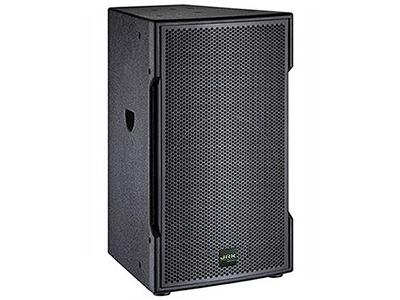 """英國JRK TS-12   """"兩單元兩分頻高聲壓高靈敏度音箱; 單功放推動; 一只12英寸高功率低音單元; 一只1.7英寸鈦高音壓縮驅動器; 寬指向角度以獲得較寬范圍的擴聲能力; 電腦優化模似設計獲得良好的頻響相位特性; 靈活方便多種安裝方式; 適應于室外演出、多功能廳、演藝等場所  額定功率(RMS):400W 峰值功率(RMS):800W 靈敏度(1m/1W):98db 頻率響應(-3db):40Hz-20KHz 額定阻抗:8Ω 平均聲壓級(1m):110db 最大聲壓級(1m):122db"""