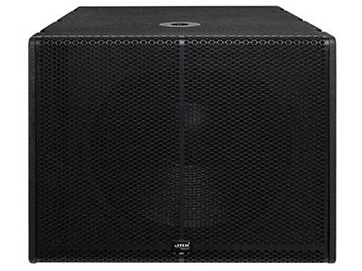 """英國JRK LA-18B   """"單18寸線陣超低音 低頻強勁有力,有彈性; 帶通式設計,高強度箱結構; 一只18寸線性高效超低音單元; 電腦優化模擬設計獲得良好的頻響相位特性; 配合本品牌線陣全頻音響使用; 適用于室內外演出、HI房、迪廳娛樂場所及需要增強低頻效果的場所 額定功率(RMS):800W 峰置功率(RMS):2000W 最大聲壓級(RMS):160dB 靈敏度(1m/1w):92B 頻率響應(-3dB):60Hz-20KHz+-1dB 推薦阻抗:8歐 尺寸(W*H*D):630*510*70"""