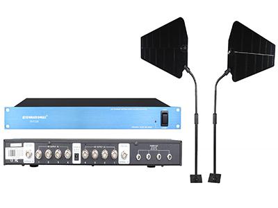 森海動力 天線放大器(森海動力)   160MHZ寬頻設計,適合多種無線系統使用,配套本廠真分集機型使用效果更佳. 配套指向性天線使用,提高系統接收信號的穩定性. 能對工程機柜式安裝的無線系統,天線信號部分合理分配應用. UHF頻段,寬頻帶的分集式天線分配器,可把一對天線接收信號作整體增益分配到多個通道的無線接收系統中.一臺天線分配器可提供4臺無線接收系統中.以寬頻帶700-860MHZ范圍工作,可以把多個700-860MHZ范圍內不同頻段的無線系統連接一起使用.