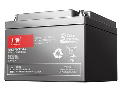 山特城堡 C12-26 蓄电池