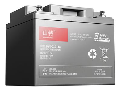 山特城堡 C12-38 蓄电池