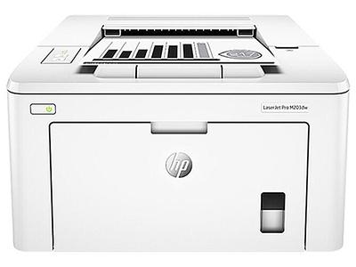 惠普 m203dw黑白激光打印机   单色激光打印机 1200*1200分辨率 a4幅面 一分钟28页 月负荷20000页  256mb内存  自带网口 usb接口