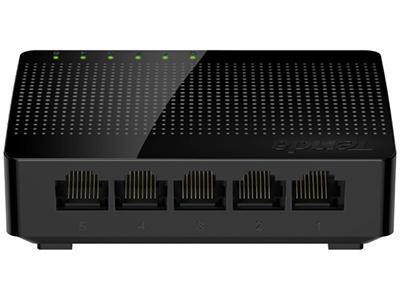 腾达 SG105 5口千兆交换机 4口家用宿舍交换器 监控网络网线分线器 分流器 兼容百兆