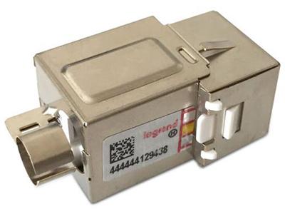 TCL罗格朗网络模块 单口双口三口四口电话电脑信息面板网线插座 超五类打线式屏蔽RJ45模块632702-2