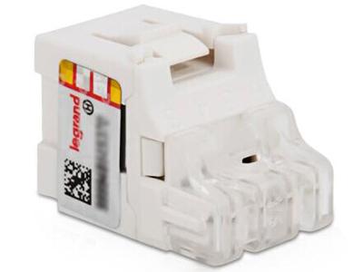 TCL罗格朗网络模块面板 单口双口网线电话电脑语音插座 电话模块C3M0011