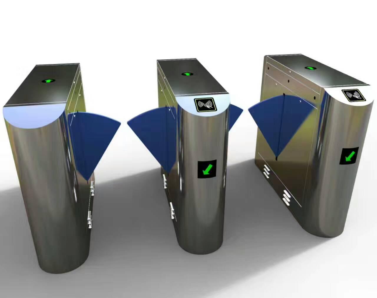 翼闸  智能通道系统 可配刷卡门禁 指纹 人脸识别门禁