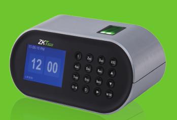 郑州中控智慧ZM106桌面型指纹考勤机彩屏显示,桌面型,可选 配后备电池