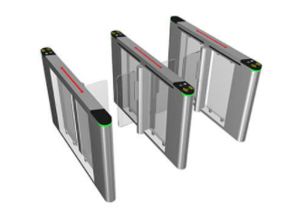 郑州中控智慧高端摆闸SBTH1000系列总代理 技术支持速度快,窄箱体 伺服高性能电机