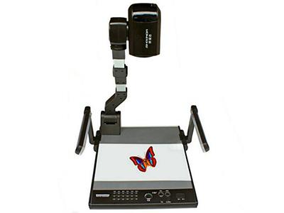 鸿合 HV-270  解像度TV线:高于850TV线 变焦: 整机220倍放大 对焦/白平衡: 自动/手动 图像特技: 正负片、冻结  旋转, 同屏对比、镜像、文本/图像、黑白/彩页 图像存储:有 同屏对比: 有 USB2.0接口: 有(提供接口软件或附件,可供用户计算机程序实时调用展示台上实物摄像图像,并能控制展台物理操作) RGB输入输出: DB15FLC  各 2组 RGB输出分辨率: XGA, SXGA, 720P 16:9 镜头输出像素: 320万